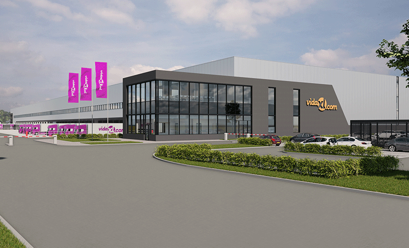 vidaXL is building an 80.000m² second distribution centre in Venlo (NL)
